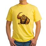 Orangutan Ape Yellow T-Shirt