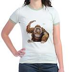 Orangutan Ape Jr. Ringer T-Shirt