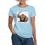 Orangutan Ape (Front) Women's Pink T-Shirt