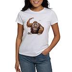 Orangutan Ape (Front) Women's T-Shirt