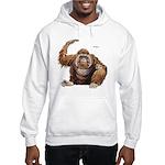 Orangutan Ape Hooded Sweatshirt