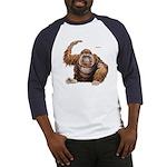 Orangutan Ape (Front) Baseball Jersey