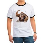 Orangutan Ape (Front) Ringer T
