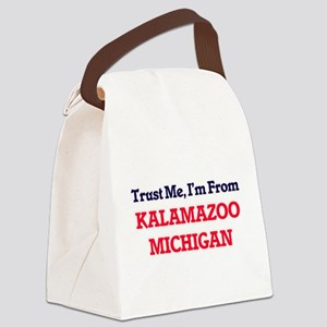 Trust Me, I'm from Kalamazoo Mich Canvas Lunch Bag