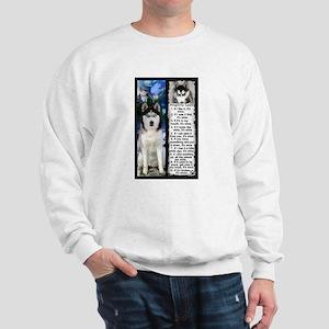 Siberian Husky Dog Laws Rules Sweatshirt