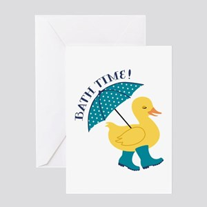 Bath Time Greeting Cards