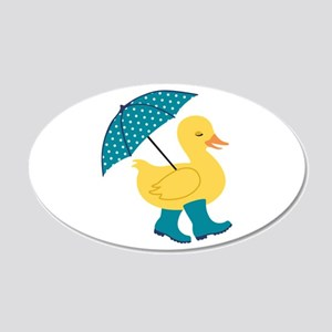 Rain Duck Wall Decal