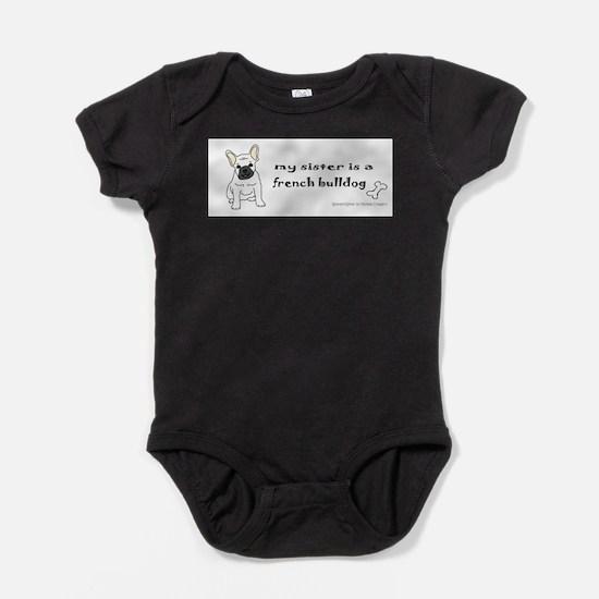 french bulldog gifts Infant Bodysuit Body Suit