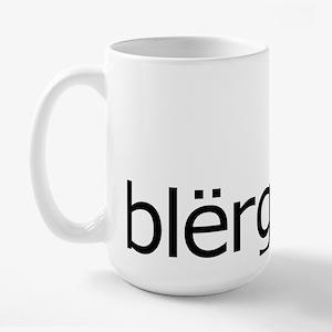 Blerg Large Mug