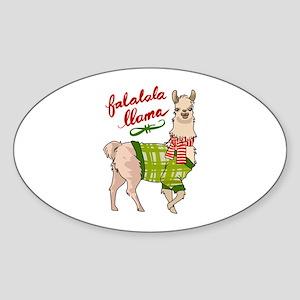 Falalala Llama Sticker