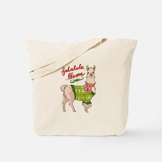 Falalala Llama Tote Bag