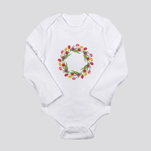 Tulips Wreath Body Suit