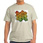 Celtic Leaf Transformation Light T-Shirt