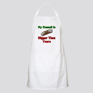 My Cannoli Is Bigger Then Your Cannoli BBQ Apron