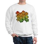 Celtic Leaf Transformation Sweatshirt
