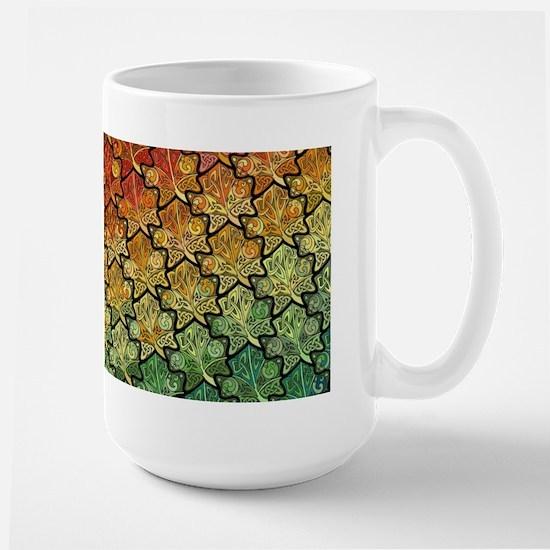 Celtic Leaf Transformation Large Mug