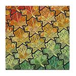 Celtic Leaf Transformation Decorative Tile