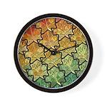 Celtic Leaf Transformation Wall Clock