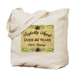Over 40 Years Tote Bag