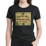 Over 40 Years Women's Dark T-Shirt