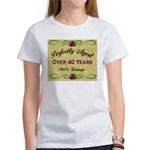Over 40 Years Women's T-Shirt