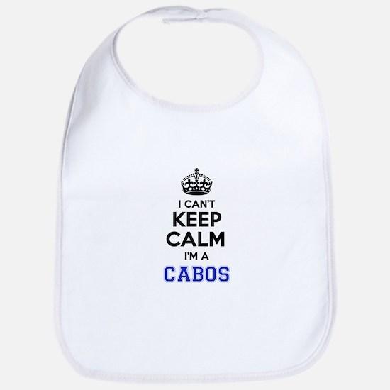 I can't keep calm Im CABOS Bib