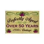 Over 50 Years Rectangle Magnet (100 pack)