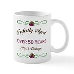 Over 50 Years Mug
