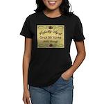 Over 50 Years Women's Dark T-Shirt