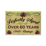 Over 60 Years Rectangle Magnet (10 pack)
