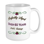 Over 60 Years Large Mug