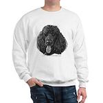Shadow, Standard Poodle Sweatshirt