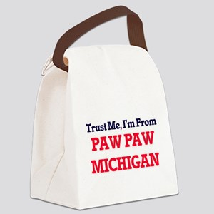 Trust Me, I'm from Paw Paw Michig Canvas Lunch Bag