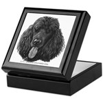 Shadow, Standard Poodle Keepsake Box