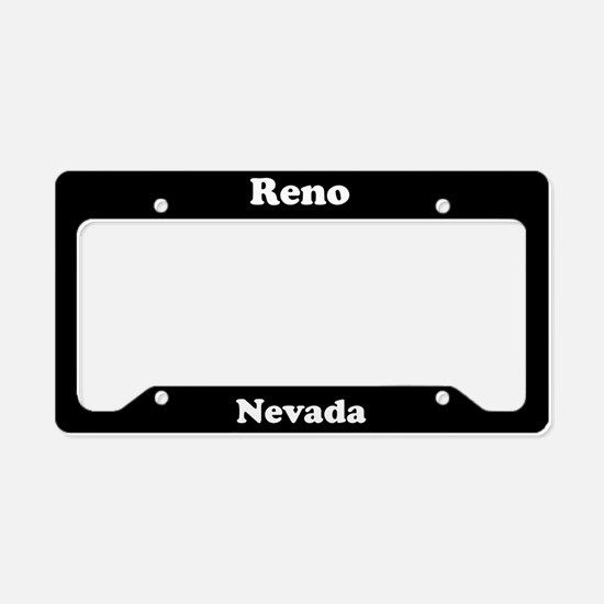Reno NV License Plate Holder