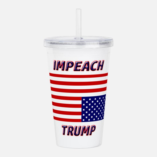 IMPEACH TRUMP Acrylic Double-wall Tumbler