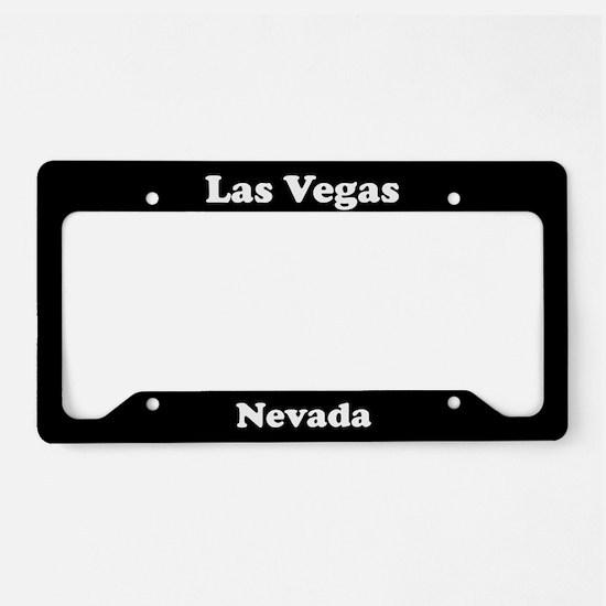 Las Vegas NV License Plate Holder