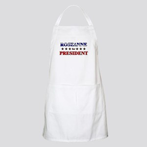 ROSEANNE for president BBQ Apron