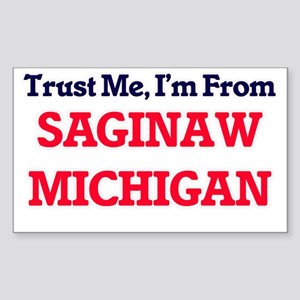 Trust Me, I'm from Saginaw Michigan Sticker