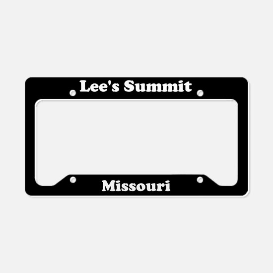 Lee's Summit MO License Plate Holder