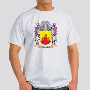 Becket Coat of Arms (Family Crest) T-Shirt