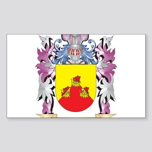 Becket Coat of Arms (Family Crest) Sticker