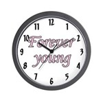 Forever Young Wall Clock