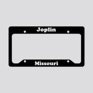 Joplin MO License Plate Holder