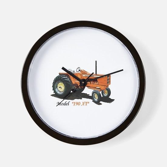 Antique Tractors Wall Clock
