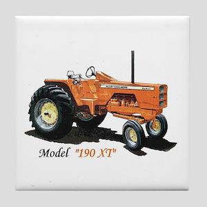 Antique Tractors Tile Coaster