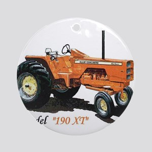 Antique Tractors Ornament (Round)