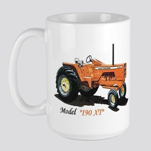Antique Tractors Large Mug