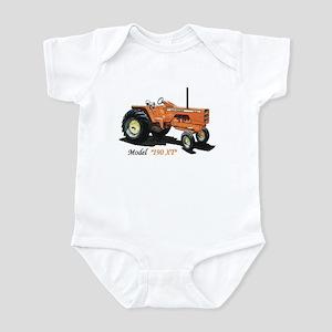 Antique Tractors Infant Bodysuit