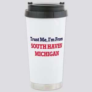 Trust Me, I'm from Sout Stainless Steel Travel Mug